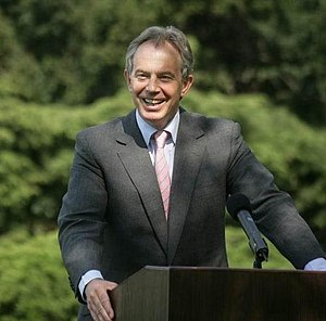New Labour - Prime Minister Tony Blair (2007), the key figure of New Labour