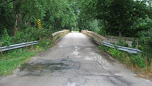 National Register of Historic Places listings in Coles County, Illinois - Image: Blakeman Bridge