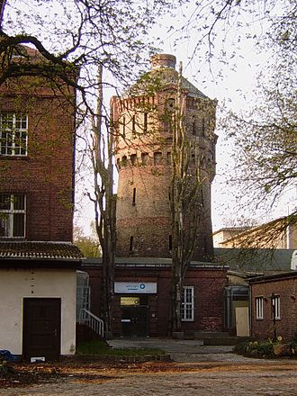 CCC Film - CCC Film buildings in Spandau, at the former Königliche Pulverfabrik (Royal gunpowder production founded 1717))