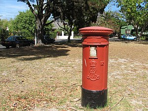 Pinelands, Cape Town - Old postbox in The Mead.