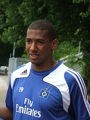 Jérôme Boateng - Boateng with Hamburg in 2009