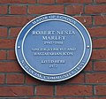 Bob Marley plaque, Ridgmount Gardens, WC1 (6321585399).jpg