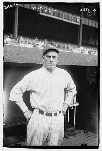 Bobby Veach - Veach in 1925