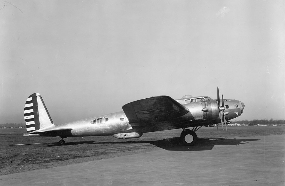 Boeing B-17D at Wright Field