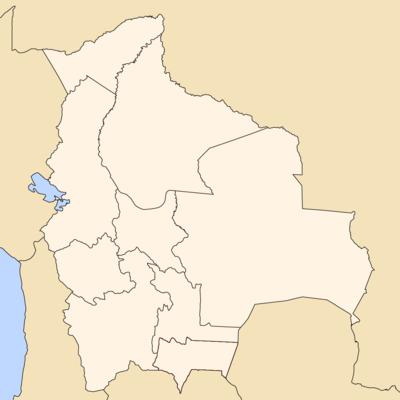 Departamentos de Bolivia  Wikipedia la enciclopedia libre