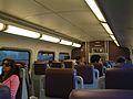 Bombardier bi-level train interior in California.jpg