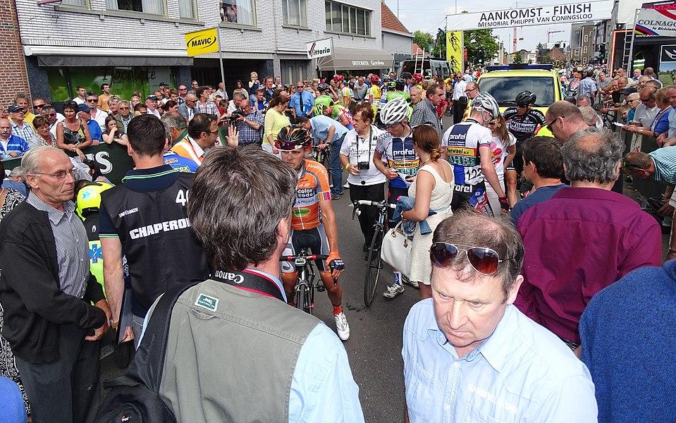 Reportage réalisé le dimanche 7 juin à l'occasion de l'arrivée du Mémorial Philippe Van Coningsloo 2015 à Bonheiden, Belgique.