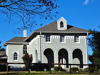Triune, Tennessee - Bostick Female Academy in November 2013.