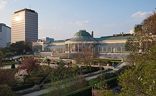 Botanical Garden of Brussels park, museum and concert hall in Brussels