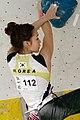 Boulder Worldcup Vienna 28-05-2010 quali-w029 Jain Kim.jpg