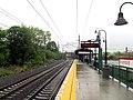 Branford station platform facing east, May 2013.JPG