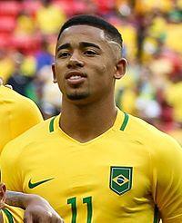 Gabriel Jesus - Questo giocatore di football figo di origine Brasiliana nel 2019