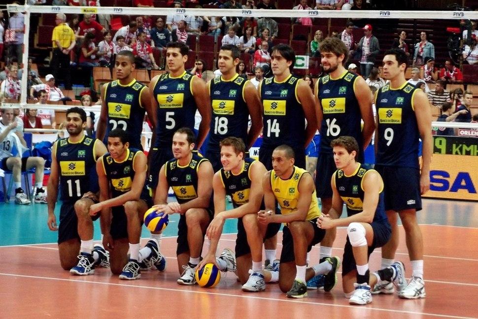 Brazil national volleyball team 2012