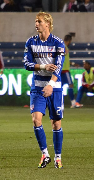 Brek Shea - Brek Shea playing for FC Dallas