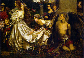 Eleanor Fortescue-Brickdale - Image: Brickdale, Fortescue The Uninvited Guest 1906