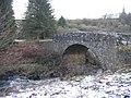 Bridge over The Lewis Burn at The Forks - geograph.org.uk - 1200504.jpg