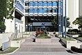 Brigittenau (Wien) - AUVA-Zentrale, Portal.JPG
