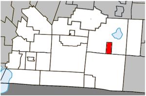 Brome, Quebec - Image: Brome Quebec location diagram