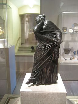 Bronze Statuette of a Veiled and Masked Dancer 4