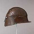 Bronze helmet of South Italian-Corinthian type MET DP105646.jpg