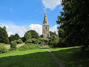 Broach spire - Image: Broughton spire, Northants