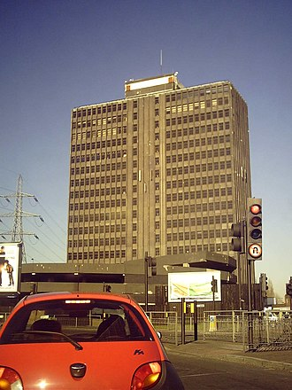Colliers Wood - Image: Brown and Root Tower