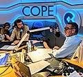 Bruno Sánchez-Andrade Nuño y Carlos Herrera en la COPE durante una entrevista.jpg