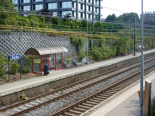 Bordet railway station