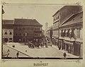 Budapest, Belváros, az egykori Rózsa tér. - Fortepan 82341.jpg
