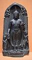 Buddhas Descent from Trayastrimsa Heaven Inscribed - Basalt - ca 10th Century CE - Pala Period - Kurkihar - ACCN Kr 13-A24119 - Indian Museum - Kolkata 2016-03-06 1534.JPG