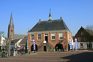 Cranendonck - Former city hall of Budel
