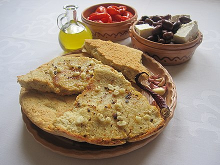 Bukë misri (cornbread) is a staple on the Albanian table.