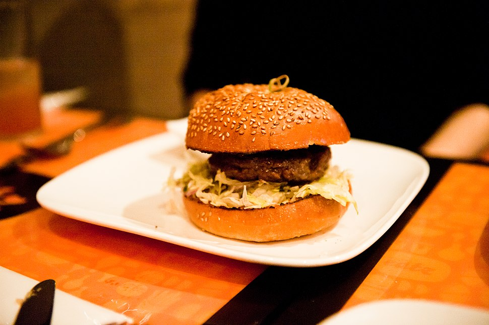 Bulgogi burger 1