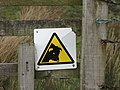 Bull warning sign - geograph.org.uk - 749125.jpg