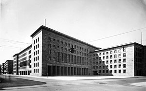 Detlev-Rohwedder-Haus - The Air Ministry Building, December 1938