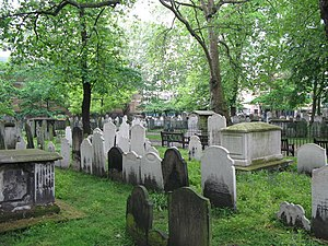 Bunhill Fields - Monuments in Bunhill Fields