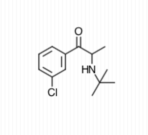 Cathinone - Bupropion: a cathinone derivative