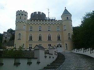 Burg Hartenstein - Image: Burg Hartenstein Niederoesterreich Hauptansicht