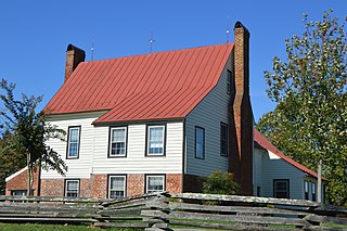 Burkes Tavern place in Virginia listed on National Register of Historic Places