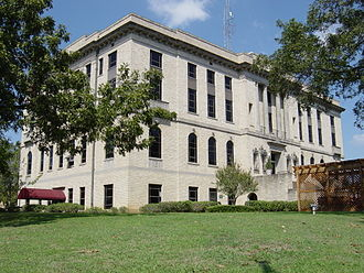 Burleson County, Texas - Image: Burleson County Courthouse