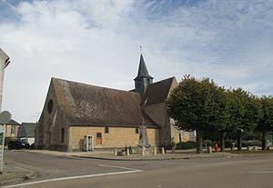 Bussy-le-Repos, Yonne - Image: Bussy le Repos Eglise