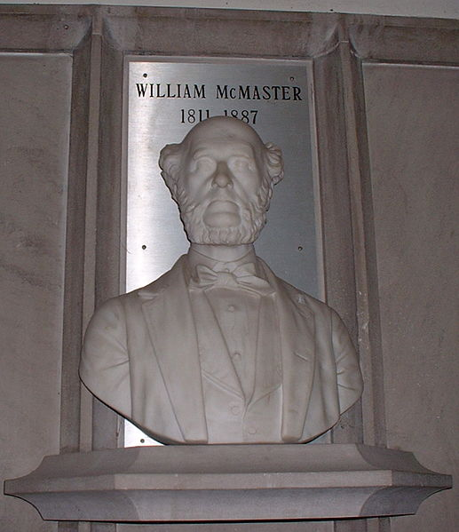 File:Bust of William McMaster.jpg