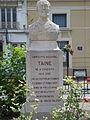 Buste de Hippolyte Taine à Vouziers (Ardennes (Fr).JPG
