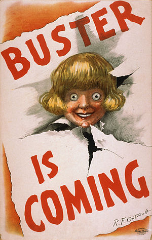 Buster Brown - Image: Buster is coming