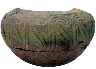 Early history of Bosnia and Herzegovina - The vase from Butmir near Sarajevo, early Neolithic