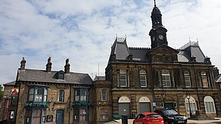 Buxton Town Hall Listed building in Derbyshire, England
