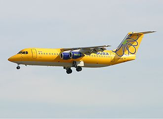 Buzz (airline) - Buzz BAe 146-300