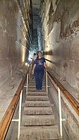 By ovedc - Interior of the Great Pyramid - 08.jpg