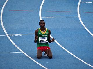 Selemon Barega Ethiopian long-distance runner