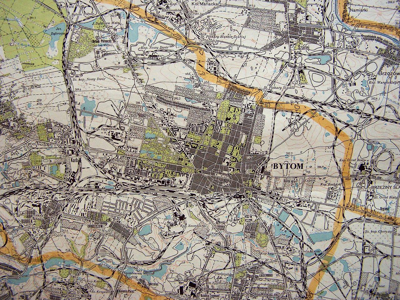 File Bytom Stara Mapa Jpg Wikimedia Commons